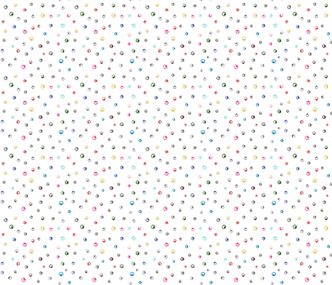 Eyeballs on white fabric by katievernon on Spoonflower - custom fabric
