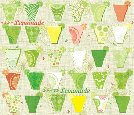 sweet'n'sour big fabric by petrushka on Spoonflower - custom fabric