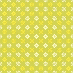 Retro lemonade zest in yellow