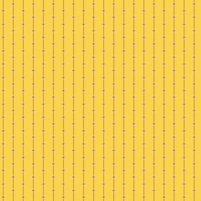 stripes with dots yellow-beige