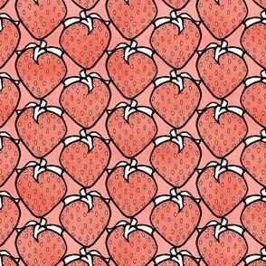 Pink Strawberries