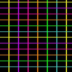 Neon Grid