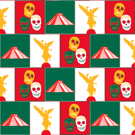 Mexico fabric by arts_and_herbs on Spoonflower - custom fabric