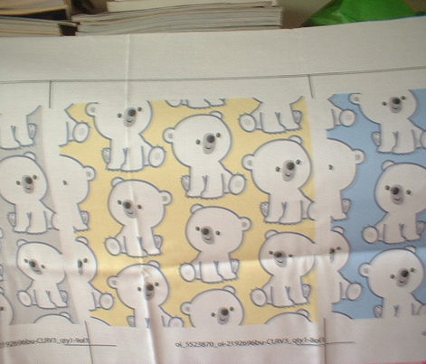 Sweet Little Polar Bears Yellow by Cheerful Madness!!