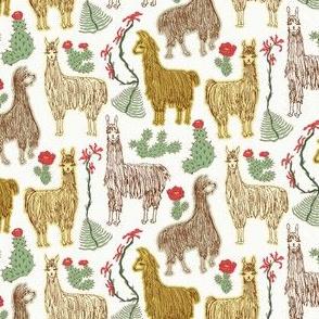 Shaggy Light Llamas