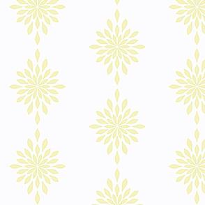Star Burst Mustard Watercolor -XL7