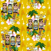 Tiki Trek - Yellow
