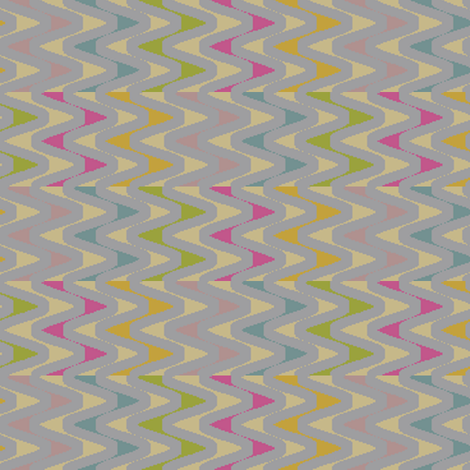 Mod Antigua (Gray) fabric by david_kent_collections on Spoonflower - custom fabric