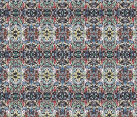 Fox_In_The_Hen_House fabric by katdermane on Spoonflower - custom fabric