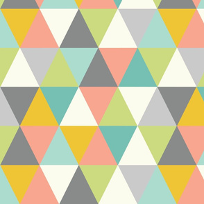 Retro Triangle Confetti