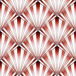 Candy Cane Retro Rays
