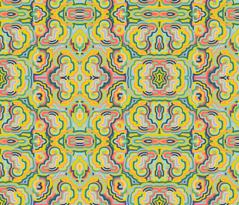 trippy fabric by kimmurton on Spoonflower - custom fabric