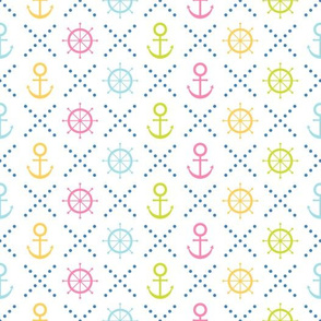 Navy seamless patterns