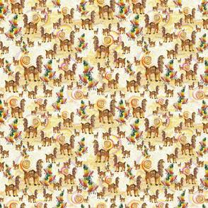 Llamas and Cantutas