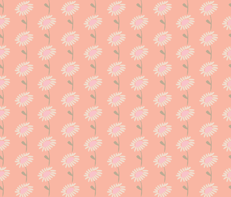 peach blossoms fabric by shindigdesignstudio on Spoonflower - custom fabric