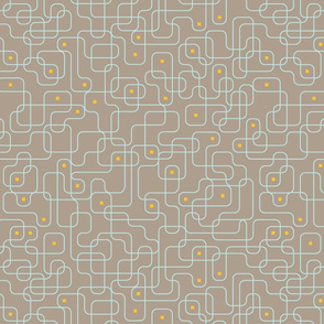 Big Circuits 4 (Taupe)