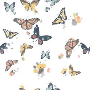 Butterfly Watercolours