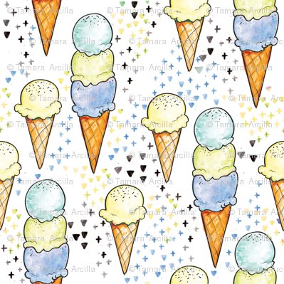Blue Ice Cream BIG