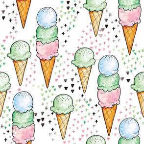 Mint Ice Cream BIG