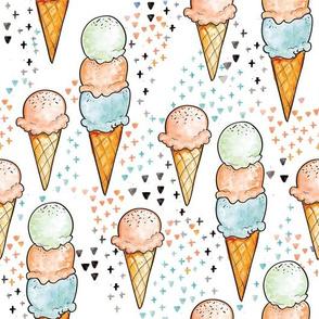 Peach Ice Cream BIG