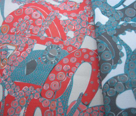 tentacles blue