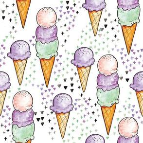 Purple Ice Cream BIG