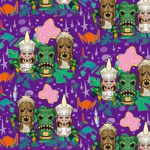 Monster Tiki Trek - Purple