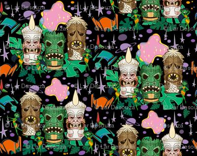 Monster Tiki Trek-Black