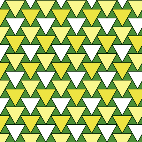 triangles of goat's cheese fabric by sef on Spoonflower - custom fabric