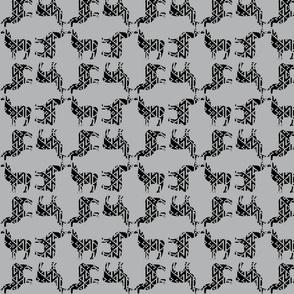 Llama black&gray1
