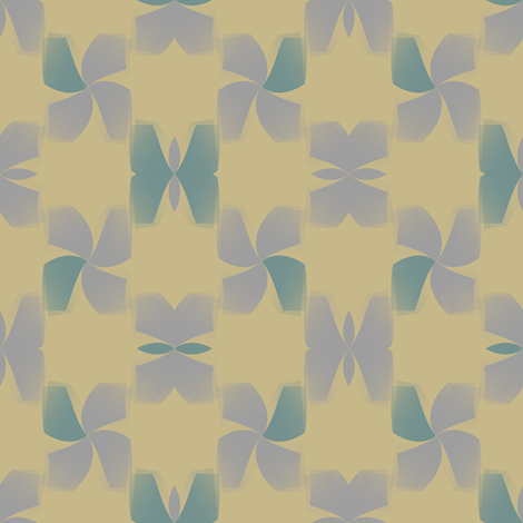 Wingspan (Taupe) fabric by david_kent_collections on Spoonflower - custom fabric