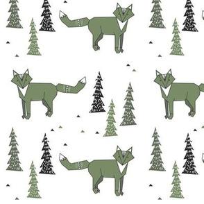 fox n tree green - elvelyckan