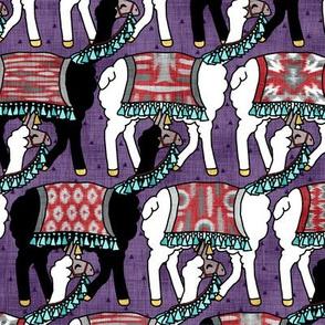 Fancy Llama Herd