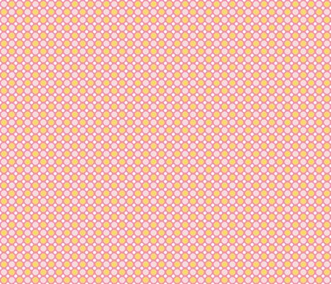 Pink Lemonade Dots fabric by brendazapotosky on Spoonflower - custom fabric