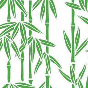 Bamboo Rainfall in Sullivan Green