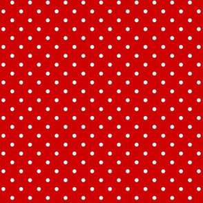 CHERRY RED DOTS SMALL