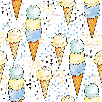 Blue Ice Cream SMALL