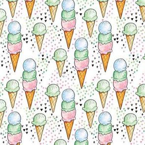 Mint Ice Cream SMALL