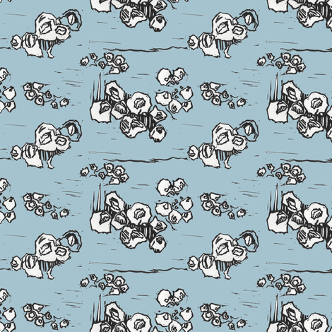 Barnacle Envy fabric by sparegus on Spoonflower - custom fabric