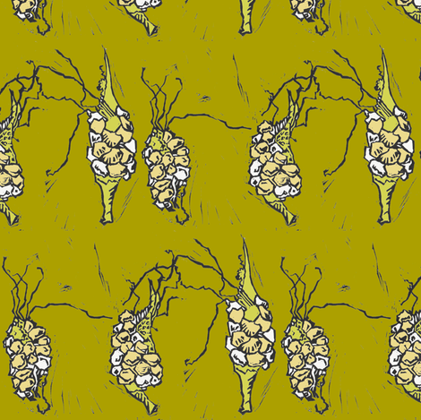 Triple Goddess fabric by sparegus on Spoonflower - custom fabric