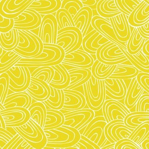 Just Swell - Geometric Citron Yellow Regular Scale