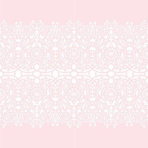 Elisabetta Lace Stripe peony