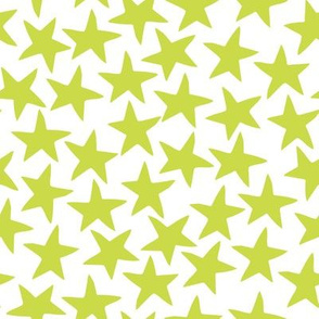 Stars - Chartreuse by Andrea Lauren