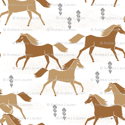 horses // brown running horse cowboy cowgirl southwest