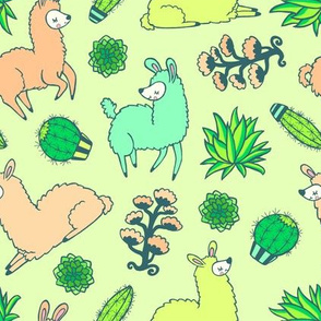 all the llamas
