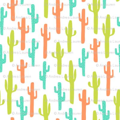 cactus // southwest kids bright summer tropical baby nursery