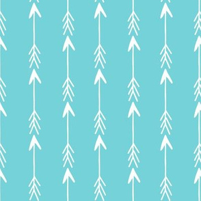 arrow rows // teal aqua rows row fabric baby