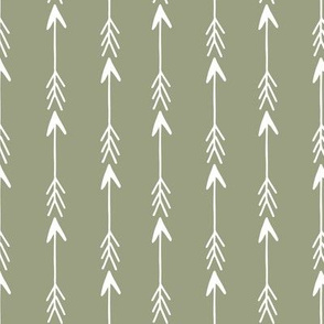 arrow rows // artichoke green arrow fabric arrows design arrows fabric baby nursery arrow fabric