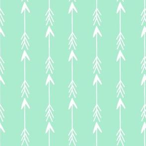 arrow rows // bright mint arrow fabric nursery baby arrows mint arrow fabric baby nursery design andrea lauren fabric
