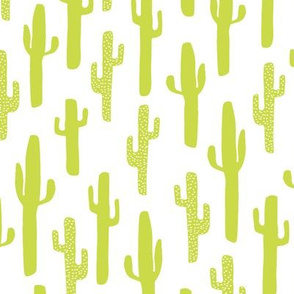 cactus // lime green cactus southwest kids summer tropical